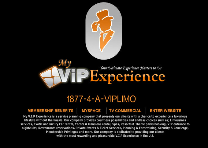 My VIP Experience